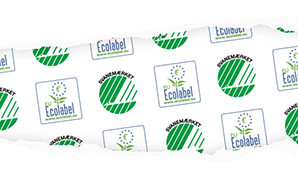 The Nordic Swan Ecolabel and EU Ecolabel wallpaper
