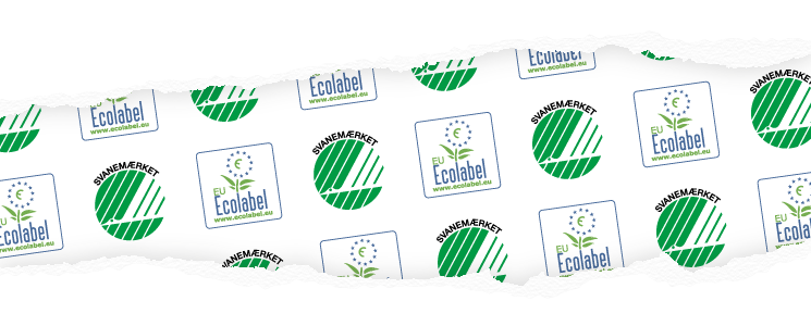 The Nordic Swan Ecolabel and EU-Ecolabel work to reduce the environmental impact from production and consumption of goods.