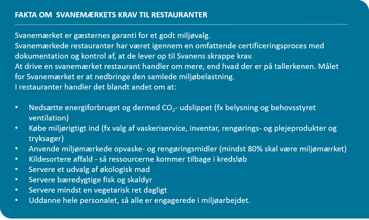 Fakta om restauranter